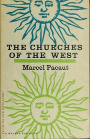 Cover of: The churches of the West