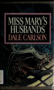 Cover of: Miss Mary's husbands