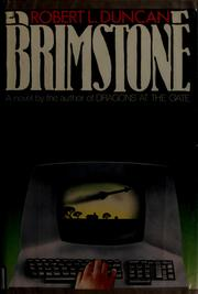 Cover of: Brimstone | Robert Lipscomb Duncan