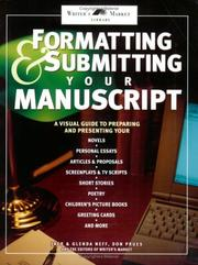 Cover of: Formatting & submitting your manuscript