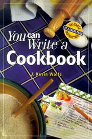Cover of: You can write a cookbook