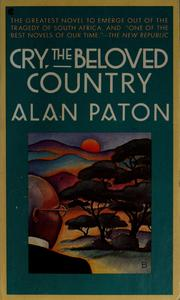 cry the beloved country edition  open library cry the beloved country
