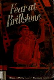 Cover of: Fear at Brillstone