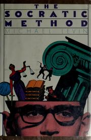 Cover of: The Socratic method | Michael Graubart Levin