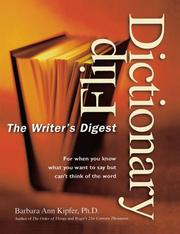 Cover of: The Writer's Digest flip dictionary