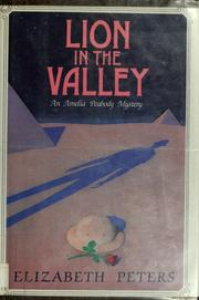 Cover of: Lion in the Valley (Amelia Peabody #4)