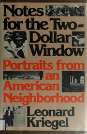 Cover of: Notes for the two-dollar window