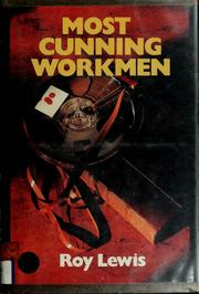 Cover of: Most cunning workmen