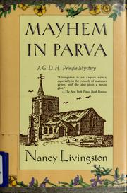 Cover of: Mayhem in Parva