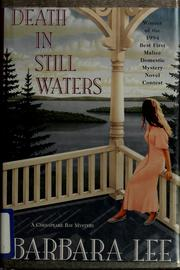 Cover of: Death in still waters