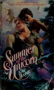 Cover of: Summer Of The Unicorn