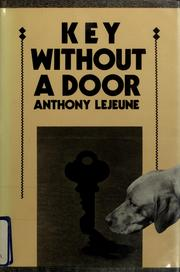 Cover of: Key without a door