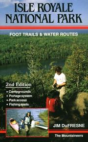 Cover of: Isle Royale National Park