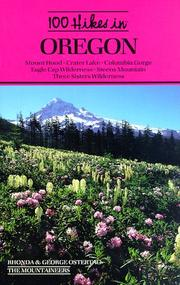 Cover of: 100 hikes in Oregon