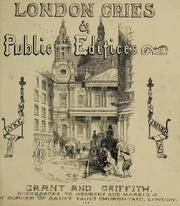 Cover of: London cries & public edifices | John Leighton