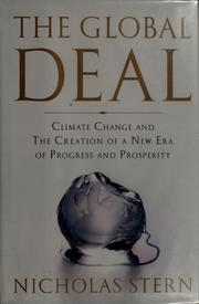 Cover of: The global deal | N. H. Stern