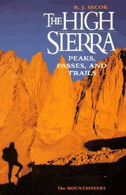 Cover of: The High Sierra