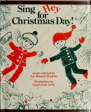 Cover of: Sing Hey for Christmas Day!: Poems