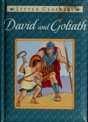 Cover of: David and Goliath