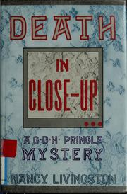 Cover of: Death in close-up