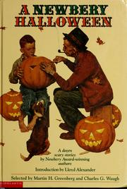 Cover of: A Newbery Halloween: a dozen scary stories by Newbery award-winning authors.