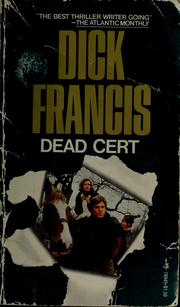 Cover of: Dead cert