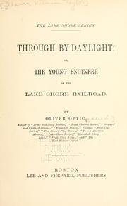 Cover of: Through by Daylight