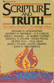 Cover of: Scripture and truth