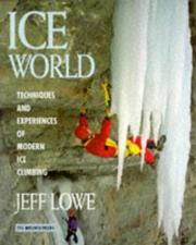 Cover of: Ice world