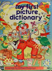 Cover of: My first picture dictionary