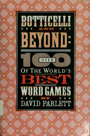 Cover of: Word games