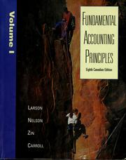 Cover of: Fundamental accounting principles
