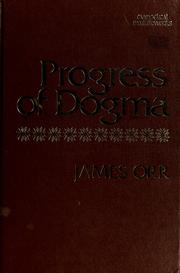 Cover of: Progress of dogma