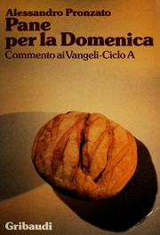 Cover of: Pane per la domenica