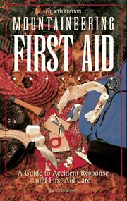 Cover of: Mountaineering first aid