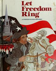 Cover of: Let freedom ring
