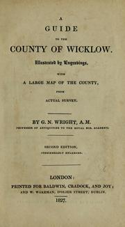 Cover of: A guide to the county of Wicklow