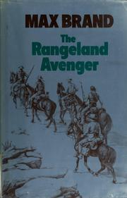 Cover of: The rangeland avenger | Max Brand [pseudonym]