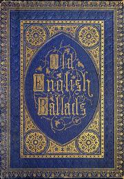 Cover of: Old English ballads |
