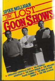 Cover of: The Lost Goon Shows