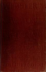 Cover of: Webster's New World dictionary of the American language
