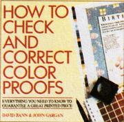 Cover of: How to Check and Correct Color Proofs |