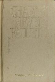 Cover of: Charity never faileth