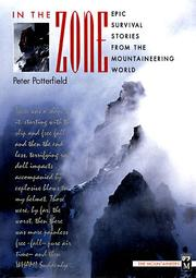 Cover of: In the Zone | Peter Potterfield