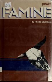 Cover of: Famine | Rhoda Blumberg