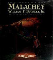 Cover of: The temptation of Wilfred Malachey
