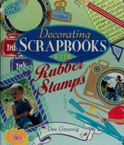 Cover of: Decorating scrapbooks with rubber stamps