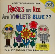 Cover of: Roses are red