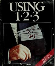 Cover of: Using 1-2-3