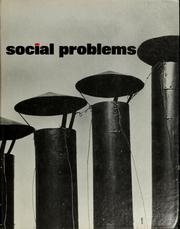 Social problems by Frank R. Scarpitti